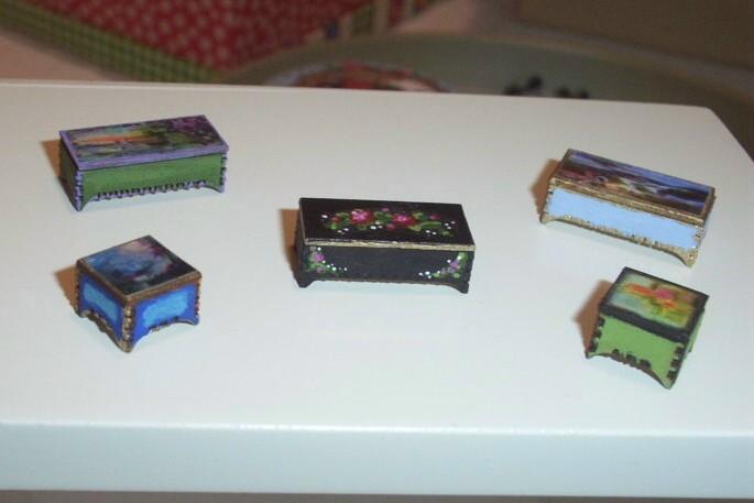 Boxes 1 thru 5